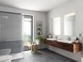 Neubau EFH Badezimmer